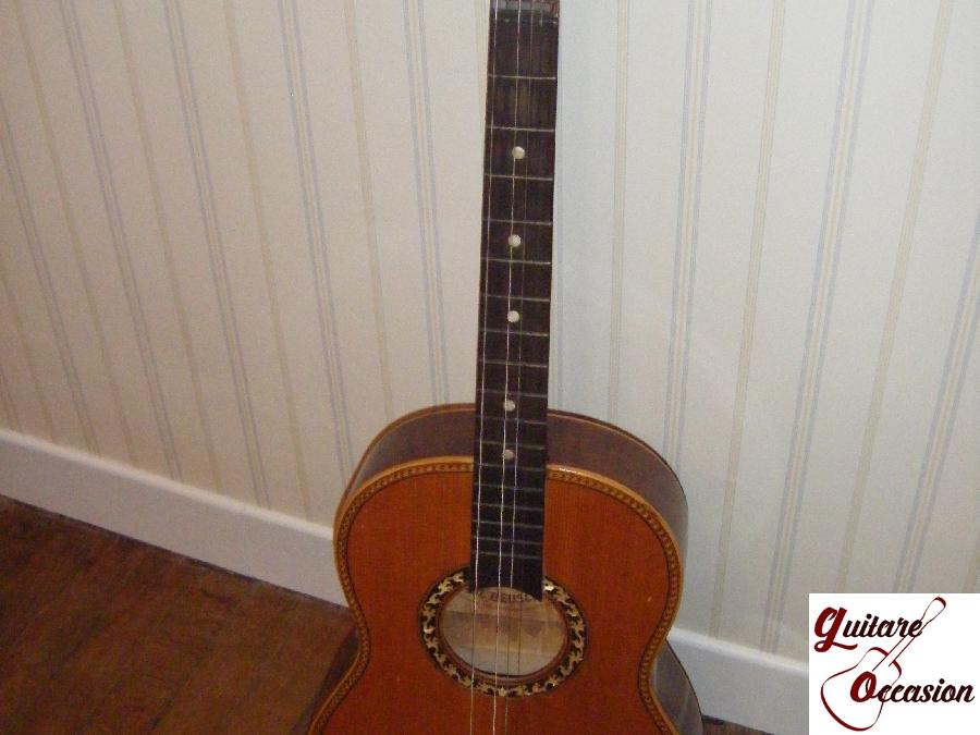 guitare classique paul beuscher guitare occasion. Black Bedroom Furniture Sets. Home Design Ideas