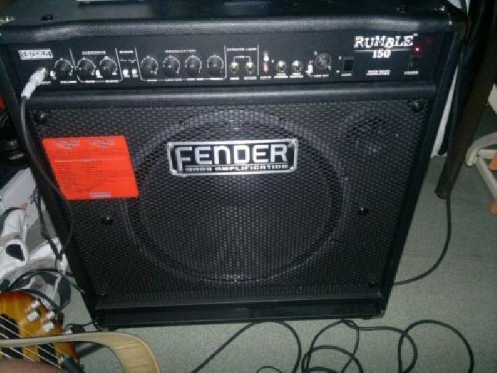 ampli basse fender rumble 150 guitare occasion. Black Bedroom Furniture Sets. Home Design Ideas