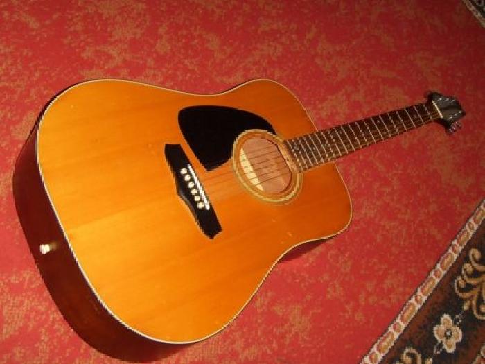 Recherche de guitare acoustique Vintage