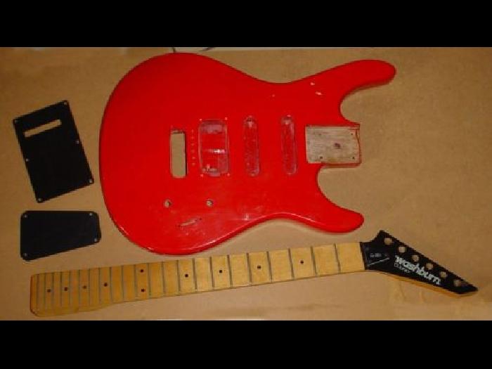 corps et manche de guitare lectrique washburn g junior. Black Bedroom Furniture Sets. Home Design Ideas