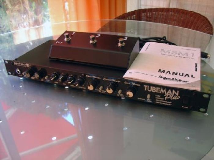 Preampli Lampe Hughes Kettner Guitar Module Midi Msm1 En Tbe