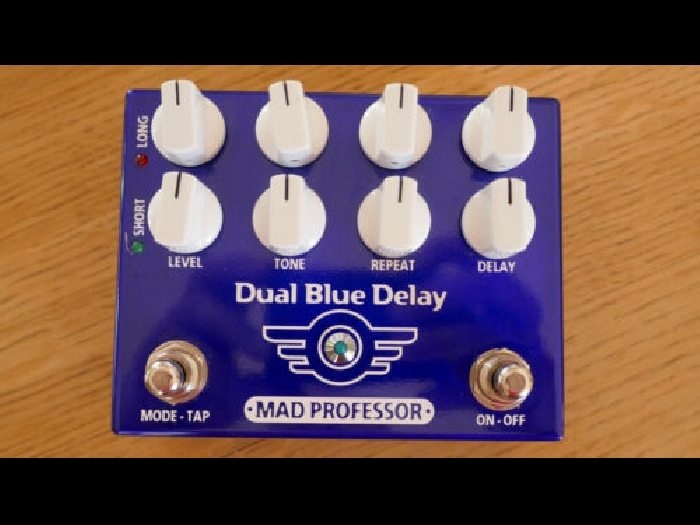 Pédale effet Guitare Delai MAD PROFESSOR Dual Blue Delay