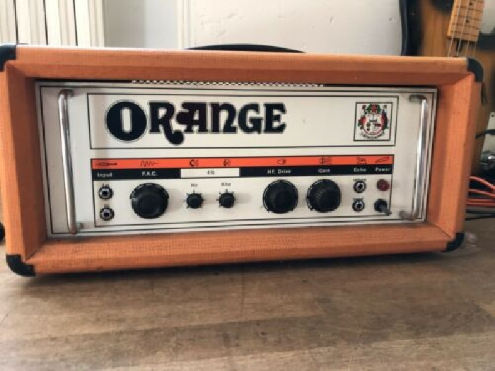 vends ampli guitare à tubes Orange graphic OR120 MKII