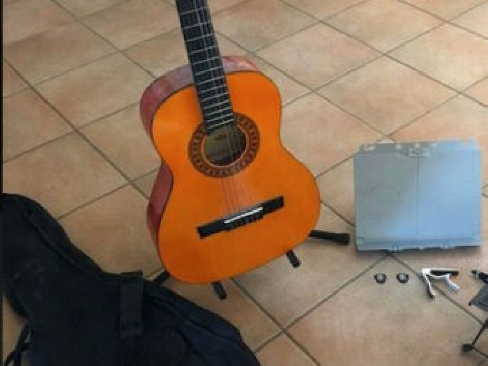 Guitare 3/4  Handmade Classical Guitar, Stagg, Guitare classique+ kit