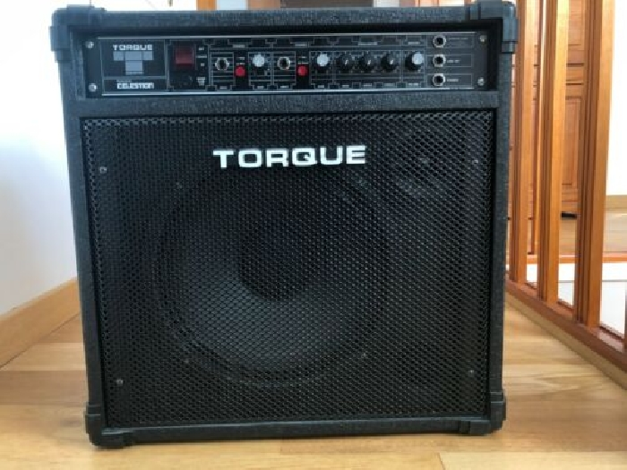 TORQUE - Ampli Guitare, Guitare basse, Voix, Synthé... - 50 Watts RMS -