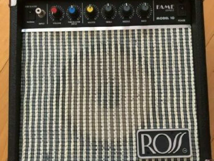 Ross Fame Series Model 10 Tube Blaster Guitar Amplifier