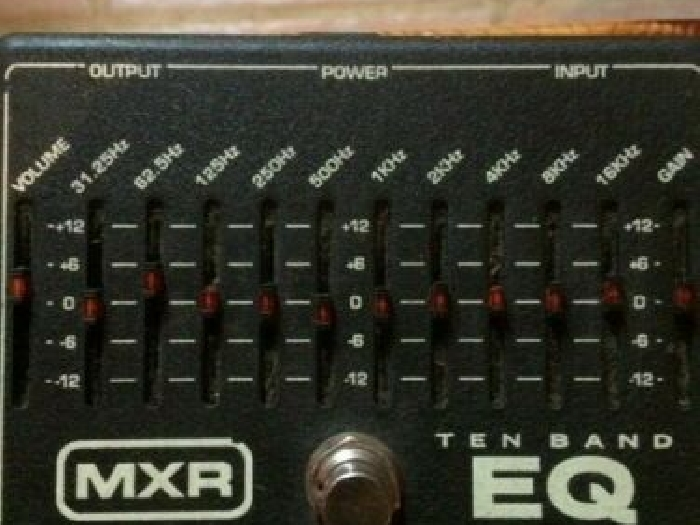MXR 10-Band Equalizer EQ Effects Pedal M108 Dunlop Free USA Shipping