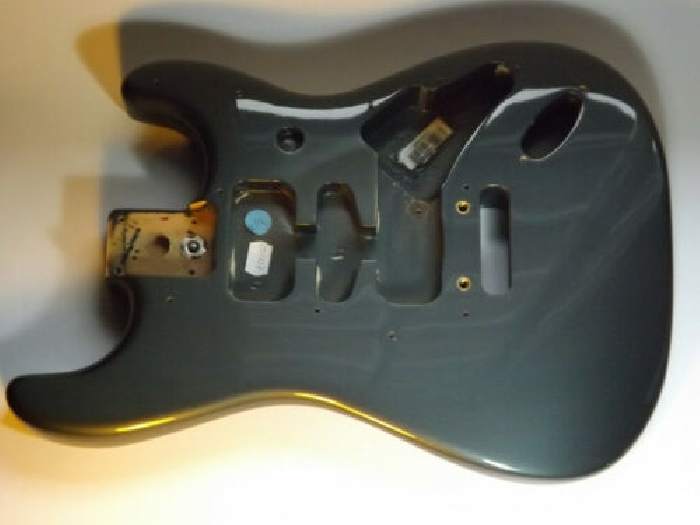 FENDER USA Stratocaster American STD 2008 body corps charcoal frost N.O.S.