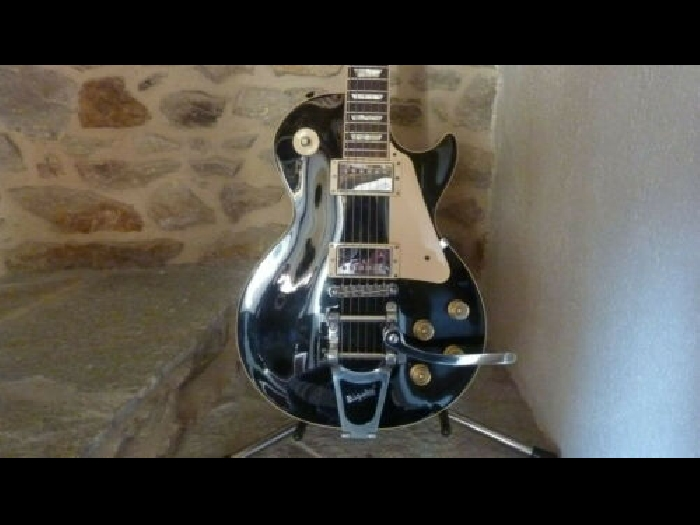 Gibson Les Paul Traditional ebony 2011 Limited Run with Bigsby