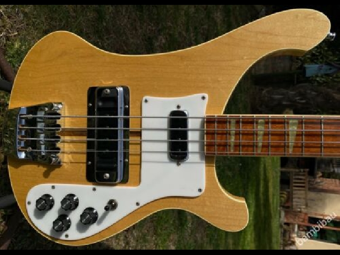 1980 RICKENBACKER 4001 MAPLEGLO - MINT AND LIGHT - OHSC