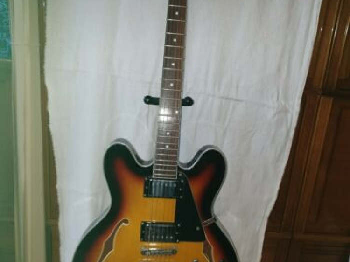 Guitare electrique blues