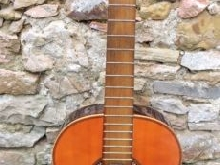 Guitare classique Vin­tage HAND MADE SPAIN Vicente Sanchis Valencia For part POC