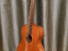 ancienne guitare classique Castellucia ?   - Old french classical guitar