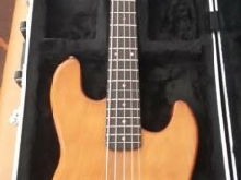 Basse Lag Collectors (1989) type Fender Jazz Bass Made in France