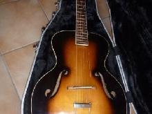 Guitare Slingerland, archtop accoustic 1930/1940