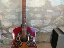 guitare acoustique type GIBSON
