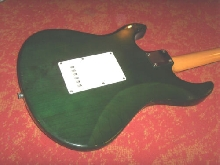 YAMAHA PACIFICA Guitare électrique bois appararent natural vert green