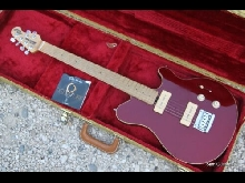 Musicman Axis Super Sport P90 Candy Red (Gibson Fender)