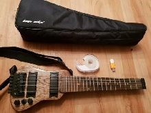 Lap Axe Deluxe Series travel guitar