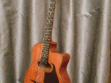 old gypsy jazz guitar JB  Castellucia - 1950's - Ancienne guitare manouche