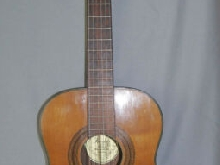 Rare ancienne guitare acoustique   Landola  Made in Finland