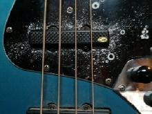 jazz bass fender mexicaine de 1992 fretless