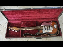 Guitare TEISCO guitar SS4L 1960's + ETUI CASE