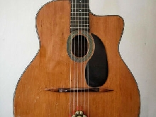 guitare manouche Fontaine 1950/60