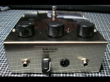 Electro-HarmoniX Big MUFF pedal with RAM'S HEAD and many mods