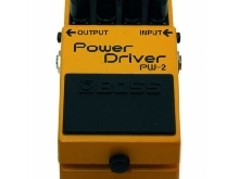 Boss Power Driver PW-2 - Pédale distortion guitare - occasion (+ boite)
