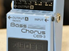 BOSS CEB-3 STEREO BASS CHORUS ELECTRIC BASS GUITAR EFFECT PEDAL CEB3 - Free Ship