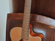 Guitare de voyage crafter cr-tvr 23cd/n