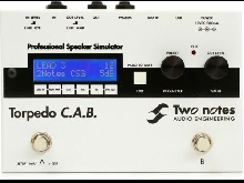 Two Notes Torpedo C.A.B. Speaker Cabinet Simulator Pedal