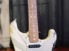 Fender Splattercaster Stratocaster Made in Mexico 2003 édition