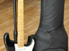 2010 Fender Standard Stratocaster Black - Made in Mexico - Sold w/ Gigbag