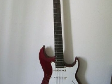 guitare guitar electrique a 6 cordes GREG BENNETT design malibu model MB-1/WR
