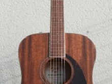 Fender Paramount PM-1 Standard Dreadnought All Mahogany Natural