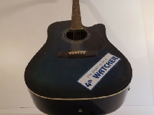 ACOUSTIC GUITAR 4TH WATCHER  W-800 CE N°087072 vintage Asie Chine N3956
