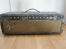Ampli Guitare Fender Showman AB7 63 Model export Blonde 1964 à restaurer
