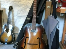 Gretsch guitar electromatic Model 6182 , 1956 , guitare archtop