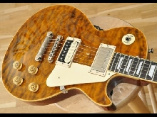 2015 Edwards E-LP-125SD QM 2015 Tiger Eye E-LP125 w/ Dominger - Made in Japan!