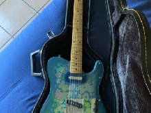 Fender Telecaster Blue Flower