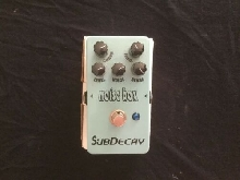 Subdecay Noise Box Harmonic Frequency Generator pédale d'effet guitare effect