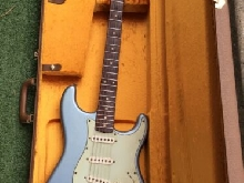 Fender Custom Shop Relic 1960 Ice Metallic Blue Matching Headstock 2006