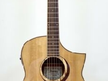 Magnifique Guitare Electro-Acoustique Ibanez AEW21VK-NT Natural High Gloss