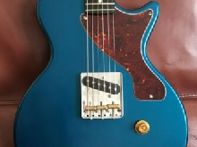 Custom Esquire Telecaster LP Jr. Guitar - Dark Ocean Turquoise - Nitro - Ebony