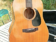 BLUERIDGE BR 30 guitare acoustique 1985 Rare etat incroyable MIJ + Gig Bag