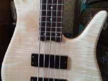 Bass guitar singlecut 5 string Boris petrychko hand made in marseille