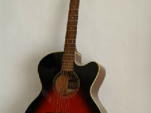 Guitare Folk électro acoustique  Yamaha Compass Series  CPX 5 VS