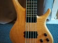 Basse Tobias Growler 5 Cordes Natural Swamp Ash